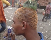 Pineapple Hair Style - Hot Trend - Funny Image