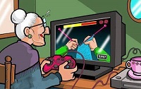 My grandmother adapt to new technologies - Funny Picture