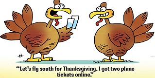 funny turkey jokes for thanksgiving and riddles