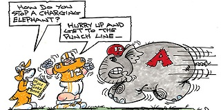 Funny alabama football puns jokes ever